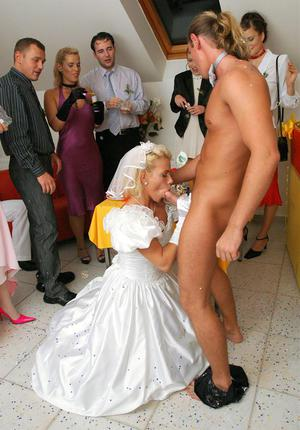 hot sexy young brides undressed