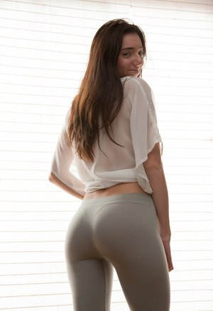 Girls see through pants and topless