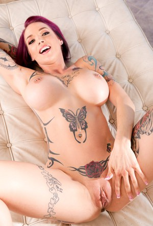 The Hot chicks naked with tattoos