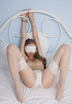 Naked Blindfolded Girls