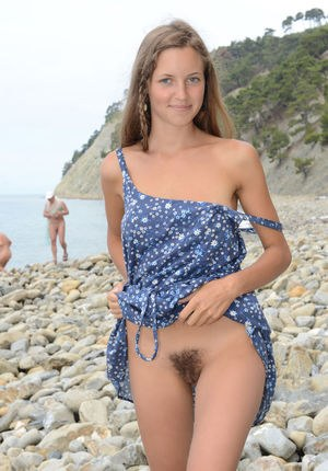 beach nice girl naked