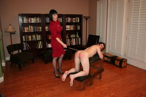 Naked Girls Spanked