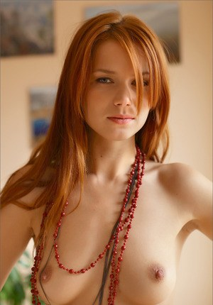 redhead girls nude Beautiful