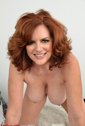 topless mature lady